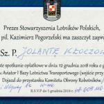 Spotkanie opłatkowe ze Stowarzyszeniem Lotników Polskich