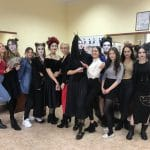 Konkurs Makijażu Temat Gothic Geisha 14.02.2020