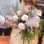 Pierwsze prace naszych florystów…..dużo pracy, dużo zaangażowania……. efekt przedstawiamy z przyjemnością